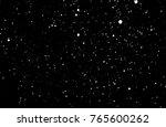 snowstorm texture. bokeh lights ... | Shutterstock . vector #765600262