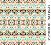 seamless colorful pattern for... | Shutterstock . vector #765610198
