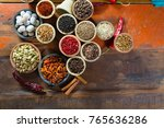 variety of different asian and...   Shutterstock . vector #765636286