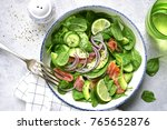 Vegetable Salad With Salted...
