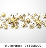 winter holiday background with... | Shutterstock .eps vector #765668002