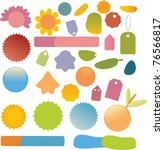 icons  signs  vector... | Shutterstock .eps vector #76566817