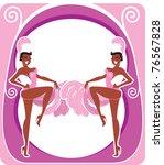 Retro Showgirls Poster Design