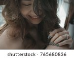 close up beauty section... | Shutterstock . vector #765680836