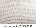 knit brown yarn smooth texture | Shutterstock . vector #765682552