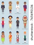 japan and korea  alaska and... | Shutterstock .eps vector #765690136