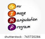 gimp   gnu image manipulation...   Shutterstock .eps vector #765720286