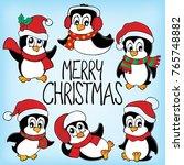 merry christmas subject image 6 ...   Shutterstock .eps vector #765748882