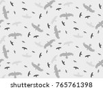 seamless background with a... | Shutterstock . vector #765761398