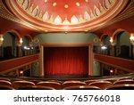 the ankara state theater of... | Shutterstock . vector #765766018