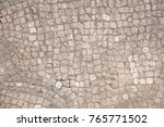 old mosaic  background from... | Shutterstock . vector #765771502