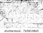 grunge black and white pattern. ... | Shutterstock . vector #765813865