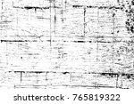 grunge black and white pattern. ... | Shutterstock . vector #765819322