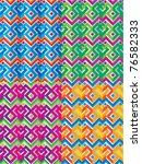 mexican ethnic seamless pattern | Shutterstock .eps vector #76582333
