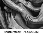 stone statue detail of human... | Shutterstock . vector #765828082