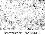 grunge black and white pattern. ... | Shutterstock . vector #765833338