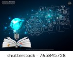 book and icon various   light... | Shutterstock .eps vector #765845728