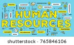 company human resources concept.... | Shutterstock .eps vector #765846106
