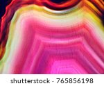 amazing cross section of pink...   Shutterstock . vector #765856198