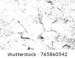 grunge black and white pattern. ... | Shutterstock . vector #765860542