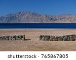 sinai beach with red sea in... | Shutterstock . vector #765867805