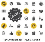 price label new icon on white...