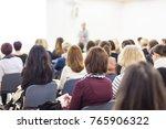 business and entrepreneurship... | Shutterstock . vector #765906322