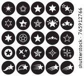 star icons set | Shutterstock .eps vector #765912766