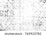 grunge black and white pattern. ... | Shutterstock . vector #765923782