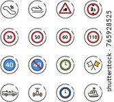 line vector icon set  ... | Shutterstock .eps vector #765928525