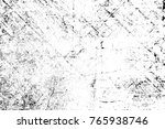 grunge black and white pattern. ... | Shutterstock . vector #765938746