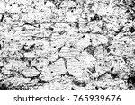 grunge black and white pattern. ... | Shutterstock . vector #765939676