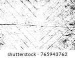 grunge black and white pattern. ... | Shutterstock . vector #765943762