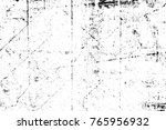 grunge black and white pattern. ... | Shutterstock . vector #765956932