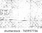 grunge black and white pattern. ... | Shutterstock . vector #765957736