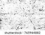 grunge black and white pattern. ... | Shutterstock . vector #765964882