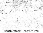 grunge black and white pattern. ... | Shutterstock . vector #765974698