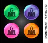 clip crystal ball design icon...