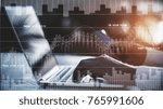 side view of businessman hands... | Shutterstock . vector #765991606