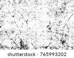 grunge black and white pattern. ... | Shutterstock . vector #765993202