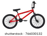 Children S Red Bike