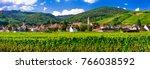 alsace region of france  ... | Shutterstock . vector #766038592