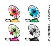 fan  ventilator vector   Shutterstock .eps vector #766059322