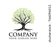 oak tree  tree logo template | Shutterstock .eps vector #766096012