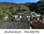 the yangchan tulou  the chinese ... | Shutterstock . vector #766168792