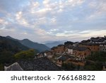 the yangchan tulou  the chinese ... | Shutterstock . vector #766168822