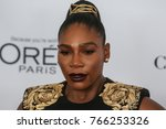 Small photo of NEW YORK CITY - NOVEMBER 13 2017: The annual Glamour Women of the Year Awards ceremony was held in Brooklyn's Kings Theater on Flatbush Ave. Serena Williams