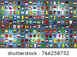 a vector illustration of world... | Shutterstock .eps vector #766258732