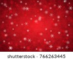 christmas and happy new year... | Shutterstock .eps vector #766263445