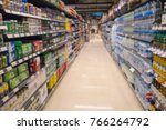 blurred department store for... | Shutterstock . vector #766264792
